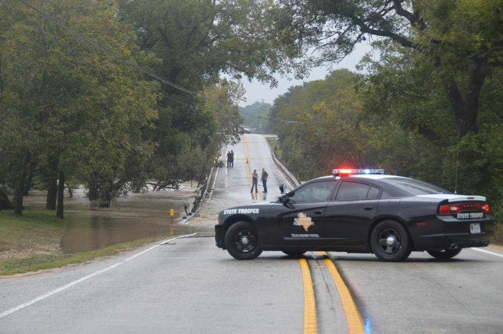 The bridge on 1826 near the Salt Lick was closed for a while